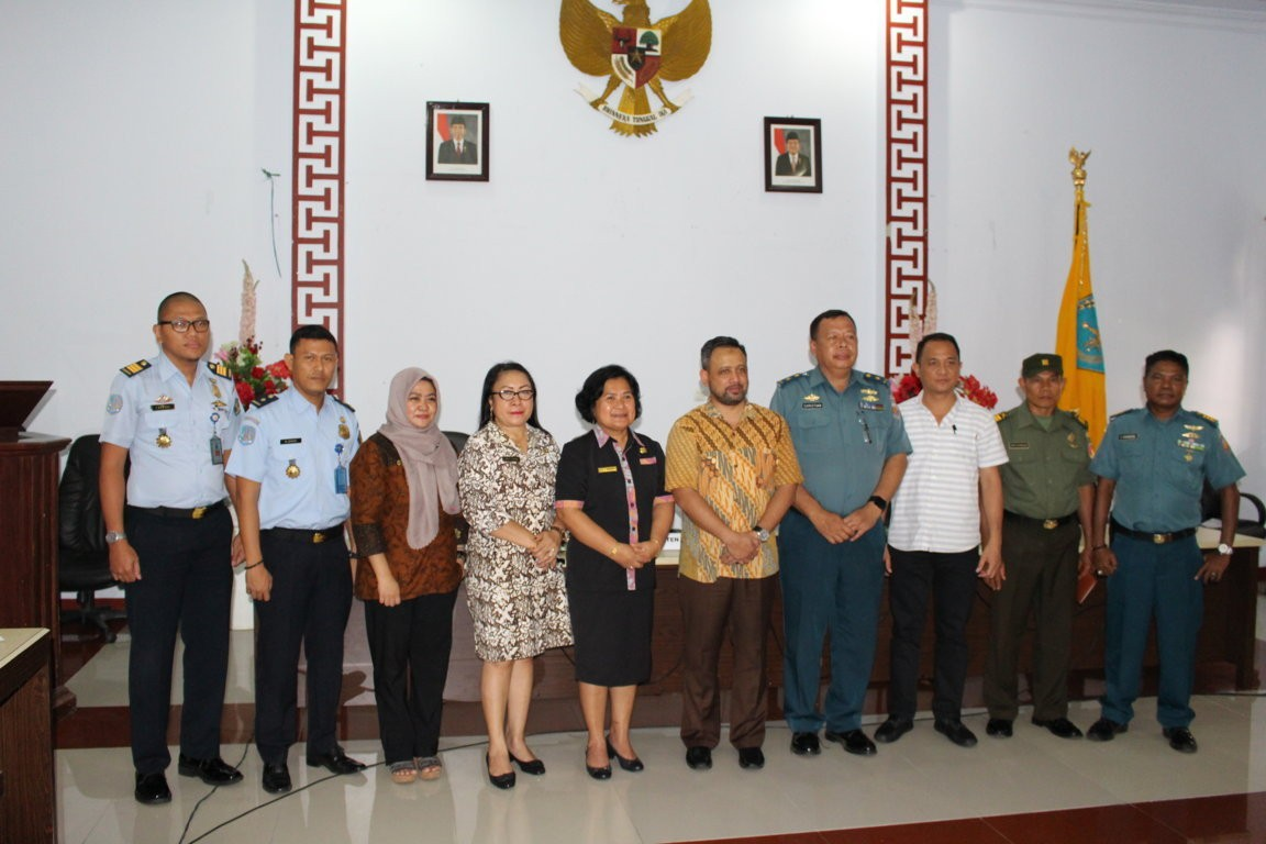 KOMNAS HAM RI gelar rapat Koordinasi di ruang serba guna Kantor Bupati Kepulauan Sangihe