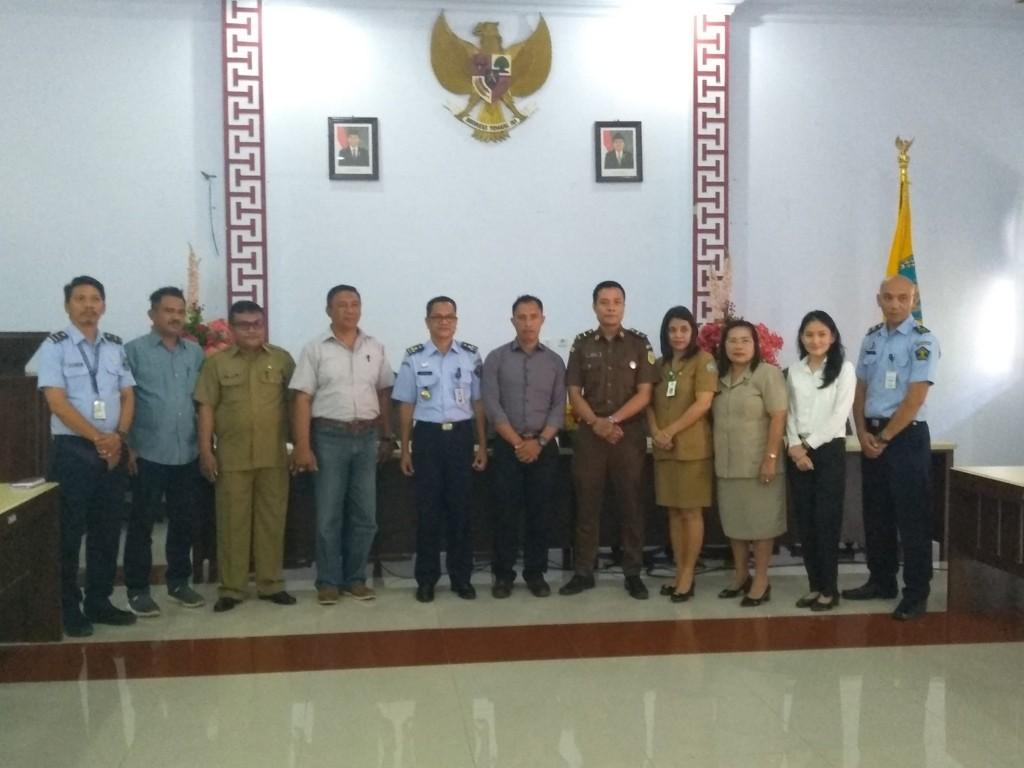 Kantor Wilayah Kementerian Hukum dan HAM Sulut Mengadakan Rapat Konsultasi dan Koordinasi Pelayanan