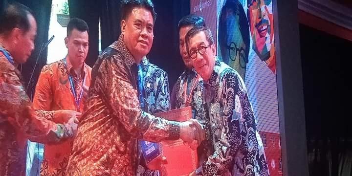 Kabupaten Kepulauan Sangihe untuk yang Keempat Kalinya mendapat penghargaan sebagai Kabupaten peduli