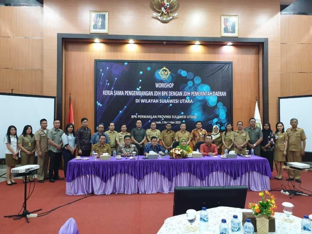 BPK perwakilan Provinsi Sulut gelar workshop pengembangan JDIH